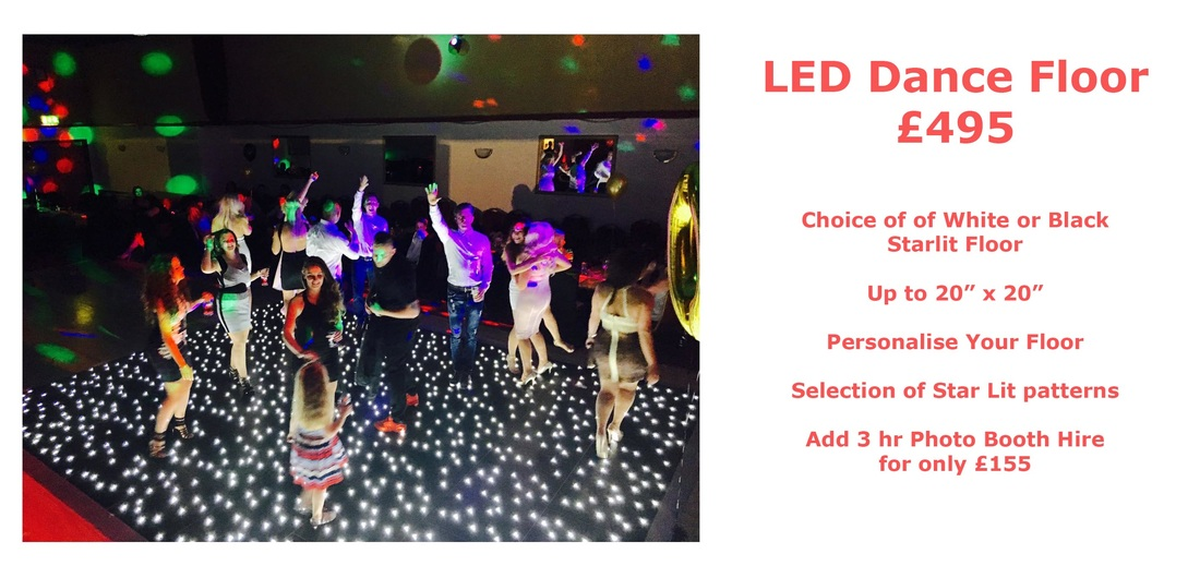 A picture of our prices for our LED dance floors