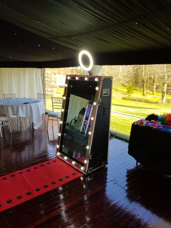 A picture of our new magic mirror product